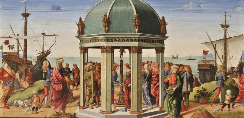 Обручение Ясона и Медеи, 1487 г.