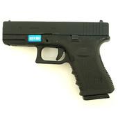 Модель пистолета WE Glock 19 Gen3 Gas Black