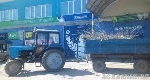 Вывоз мусора тракторными телегами возможно погрузка....