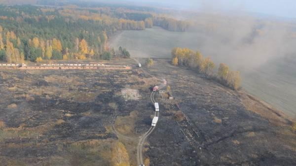 Дым от пожаров под Екатеринбургом достиг Югры. В н...