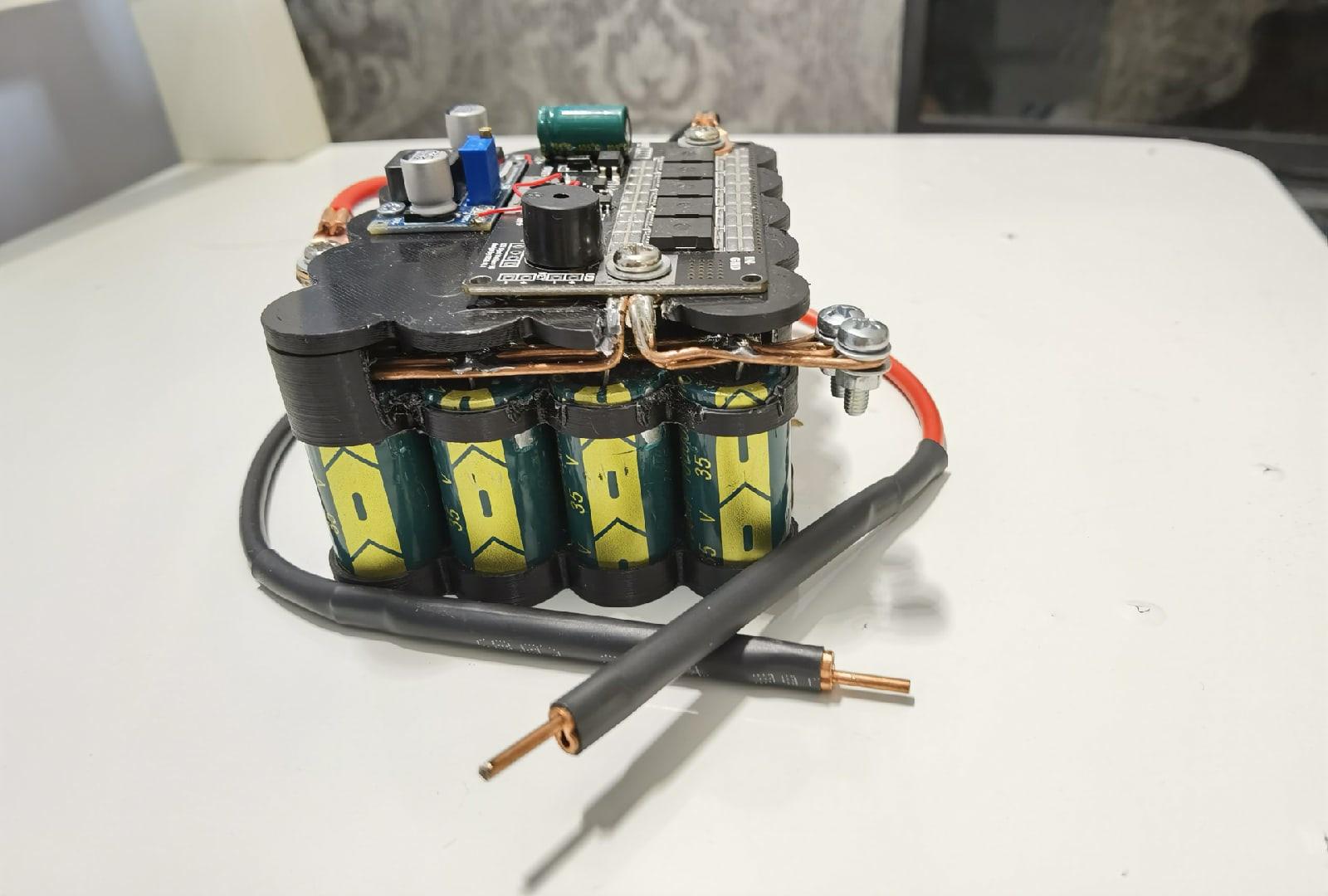 точечная сварка на конденсаторах