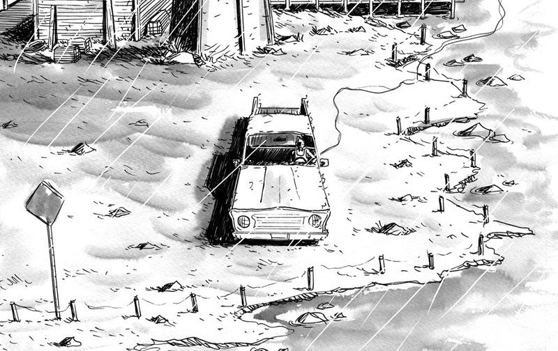 «Подводный сварщик», Джефф Лемир. Рецензия, изображение №2