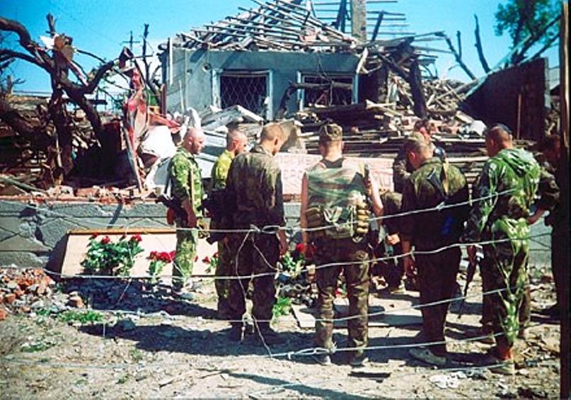 ГИБЕЛЬ КОМАНДОВАНИЯ ОТРЯДА «РУСЬ» 25 ФЕВРАЛЯ 1995 ГОДА