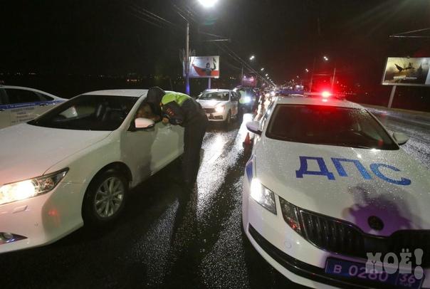 Воронежских водителей предупредили о сплошных пров...