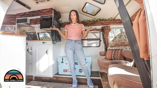Beautifully Renovated 1987 Camper Van - Tiny House Living For $