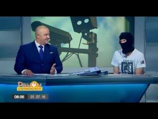 Dizel-Утро, : Зачем украинские водители садятся за руль в масках