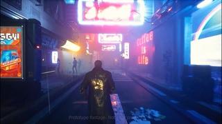 Vigilance 2099 - Cyberpunk Teaser Gameplay ue4