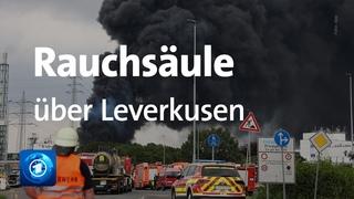 Verletzte nach Explosion in Leverkusen