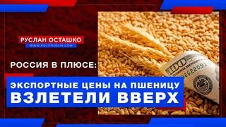 Россия в плюсе: экспортные цены на пшеницу взлетели вверх (Руслан Осташко)
