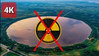 Идеально круглое озеро возле деревни Повитье. Самые необычные места Беларуси. Неядерная воронка :).