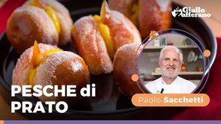 PESCHE di PRATO, FANTASTICHEEE! 🤩🤩🤩– Ricetta imperdibile del Maestro Pasticciere Paolo Sacchetti! 🧁