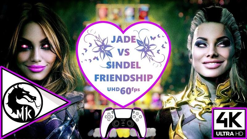 JADE VS SINDEL FRIENDSHIP ULTRA GRAPHICS SETTINGS 4K ᵁᴴᴰ 60ᶠᵖˢ