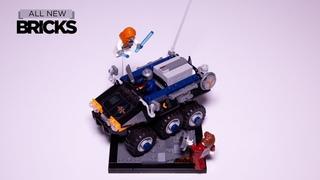 Lego Marvel Black Widow 77905 Taskmaster's Ambush Speed Build