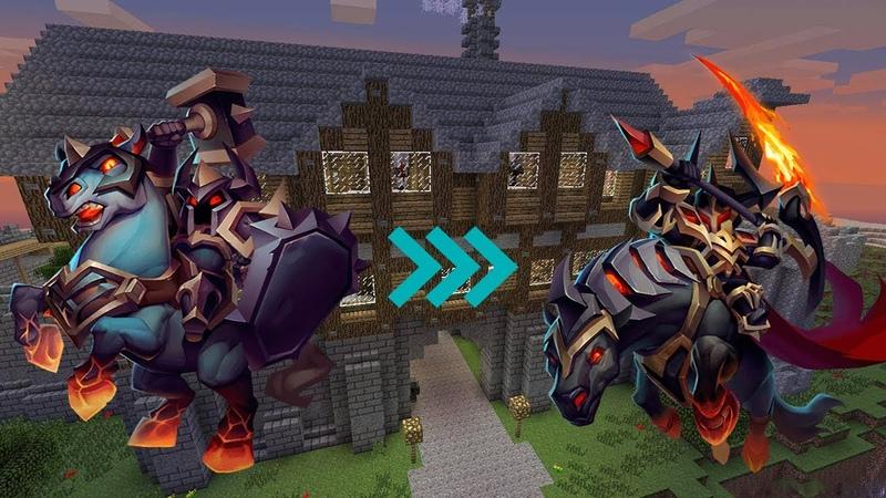 Последний Рыцарь в королевстве в майнкрафте 4 на 1 и новый Minecraft сериал 7