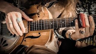 """Hoochie Coochie Man"" - Delta Blues on Resonator Slide Guitar"